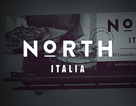 North Italia Logo north italia - frost design studio